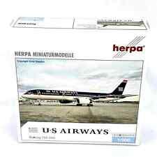 US Airways Boeing 757-200 Herpa Airline Diecast 1-500 Model 513173