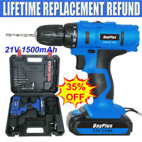 21V MAX Cordless Lithium-Ion 1/2 inch Compact Drill Driver Kit W/ Li-ion Battery