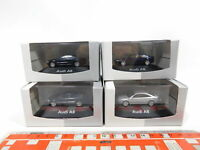 CG458-0,5# 4x Herpa authentic collection H0/1:87 PKW/Automobil Audi A8, NEUW+OVP
