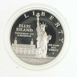Proof 1986-S Statue Of Liberty Centennial * Commemorative 90% Silver Dollar