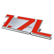 AUTO METAL BUMPER TRUNK GRILL FENDER EMBLEM STICKER BADGE CHROME RED 1.7 1.7L