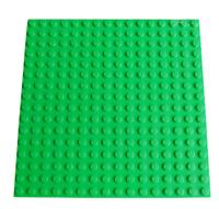 Lego Platte 16x16 Noppen alt hell grau einseitig bebaubar