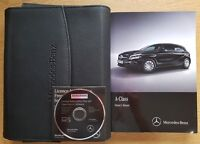 GENUINE MERCEDES A CLASS W176 OWNERS MANUAL HANDBOOK 2015-2018 WALLET PACK C-134