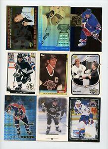 Lot Of (108) Wayne Gretzky Premium Insert Cards SPx Score Upper Deck Parkhurst