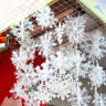 60PCS Christmas Snowflakes Decorations White Tree Party Ornaments Xmas Outdoor