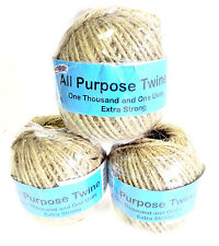 Wholesale Lot of 12 Jute Twine 325' ea   Recycling Rope  All Purpose Top Quality