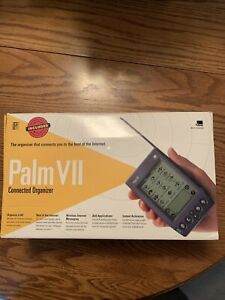 Palm Pilot VII PDA Personal Digital Assistant Complete - NEW OPEN BOX