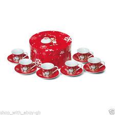 Stoviglie e biancheria da cucina rosso Natale