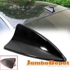 Black Shark Fin Style Roof Top Mount Dummy Aerial Antenna Mast Decor For Honda