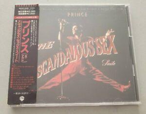 PRINCE SCANDALOUS SEX SUITE JAPAN 9 TRACK CD PARTYMAN REMIXES