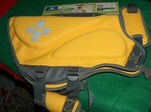 Top Paw Neoprene dog Life Jacket Vest Yellow Size L for 55 to 85 lb