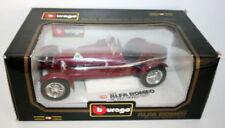 Modellini statici di auto, furgoni e camion Burago per Alfa Romeo Scala 1:18