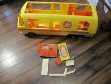 Vintage Barbie Star Traveler GMC Eleganza II Motor Home RV Bus Camper Retro 76