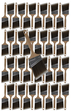 """48PK 3 """"Angle House Wall,Trim Paint Brush Set Home Exterior or Interior Brushes"""