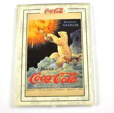 Coca-Cola Coke Sammel Karte USA 1994 mit Plastik Hülle Polar Bear 1920 Card