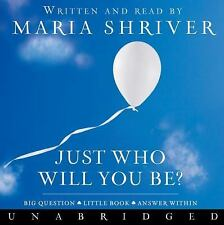 (New CD) Just Who Will You Be? Big Question, Little Book, Answer Within