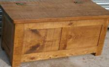 Boxes/chests Lower Price with Edwardian Oak Blanket Bedding Box Chest Coffee Table Bedroom Wood Antique 100% Guarantee Antique Furniture