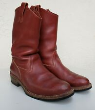 WESCO MORRISON STYLE MENS ENGINEER BOOTS BROWN Sz 13 E WIDE