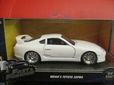 JADA FAST AND FURIOUS 1/32 BRIAN'S TOYOTA SUPRA NEW BOXED