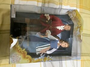 Disney Store Beauty and the Beast Live Action Film Gaston Belle Dolls Rare New