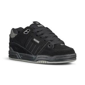 Globe Fusion Shoes - Black / Black / 3M Pebble
