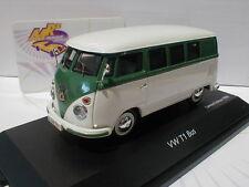 """TOPPREIS !! Schuco 02609 # VW Volkswagen T1 Fensterbusus """" grün / weiß """" 1:43"""
