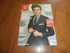 ZAC EFRON -GQ Magazine-No Label-Mint-2008