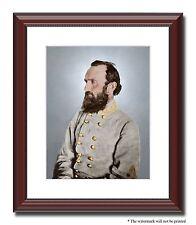 Gen Stonewall Jackson Confederate 11x14 Framed Photo Color Civil War -4190186455