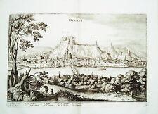 Dinant  Maas  Belgien Belgie  Merian Kupferstich 1647