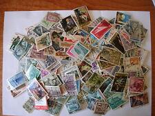 2 Lotes de 1500 sellos usados de España diferentes cada uno