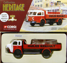 CORGI 71102 1/50 FRENCH HERITAGE Renault Faineant - HUILES RENAULT Cert. No. 4