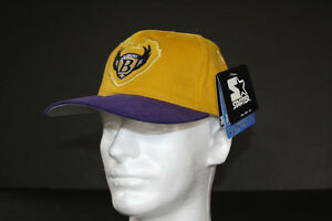 BALTIMORE RAVENS Original Football Hat Cap Helmet New Jersey Logo STARTER 1996
