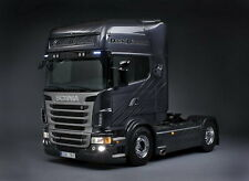 A3 Scania Black Diamond R620 V8 Tag Axle Lorry Poster Picture Art Print