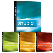 Macromedia Studio 8 Dreamweaver Fireworks Flash Web design toolkit