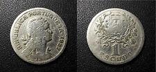 Portugal - République - 1 escudo 1927 - KM#578