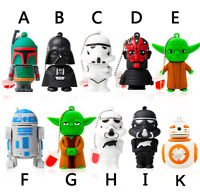 Cartoon Star Wars model USB 2.0 Memory Stick Flash pen Drive 8G/16G/32G/64G