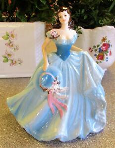 "COALPORT Figurine   "" Jessica ""   21cm or 8.25 inches High   Excellent Condition"