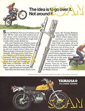 1971 Yamaha Enduro 175 CT1-C Motorcycle Ad Magazine Advertisement 71 175cc