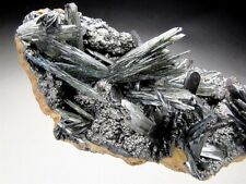 Vivianite Crystals on Matrix, Kerch Peninsula, Ukraine