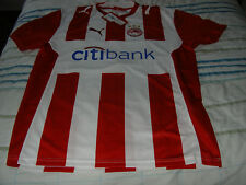 PUMA Olympiacos Home Shirt Size S Was Now