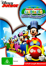 Mickey Mouse Clubhouse: Mickey's Choo Choo Express  - DVD - NEW Region 4