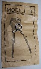 ANTIQUE BARBERS BEARD HAIR TRIMMER CLIPPERS REPLACEMENT SPRING MODEL B