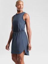 Athleta Iron Blue Rincon Dress Small NEW! | Beach Travel Resort