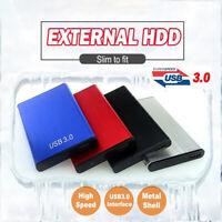 500GB 1TB 2TB USB 3.0 External Hard Drive Disks HDD 2.5'' for PC Laptop Portable