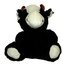 Best Made Toys Black White Cow Bull w/Bow Tie Plush Lovey 8 inch Stuffed Animal