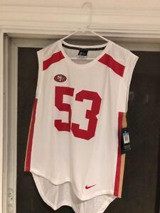 Women's San Francisco 49ers NaVorro Bowman Nike Limited Jersey SZM New Tags