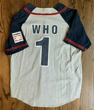 Baseball Hall of Fame Who's On First Jersey Abbott & Costello, Size Xl