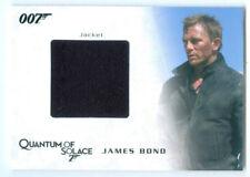 """DANIEL CRAIG """"JAMES BOND COSTUME/RELIC CARD #QC20"""" JAMES BOND ARCHIVES"""