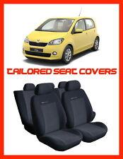 Car seat covers for SKODA CITIGO  TAILORED SEAT COVERS  FULL SET     grey1 (309)