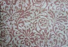 5 Double Rolls Carey Lind York PA Wallpaper Floral Scroll TL1155 Mauve Pink Tan